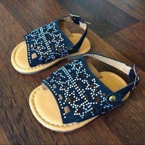 Ositos baby girl size 1 embellished sandals star